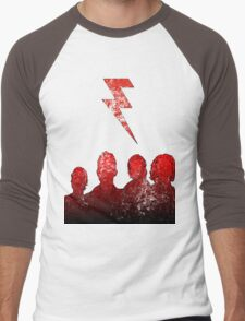 Battle Born (Grunge Ver.) Men's Baseball ¾ T-Shirt