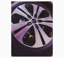 Kia Sportage Wheel  [ Print & iPad / iPod / iPhone Case ] One Piece - Long Sleeve