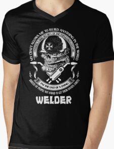 I am Proud to Be a Welder Mens V-Neck T-Shirt