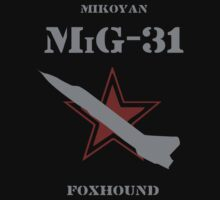 Mikoyan MiG-31 Foxhound (Insignia Series) by Samuel Sheats
