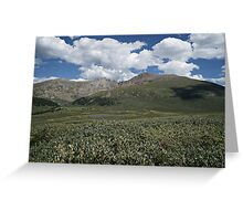 Guanella Pass Mt Bierstadt Greeting Card