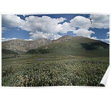 Guanella Pass Mt Bierstadt Poster