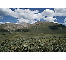 Guanella Pass Mt Bierstadt Photographic Print