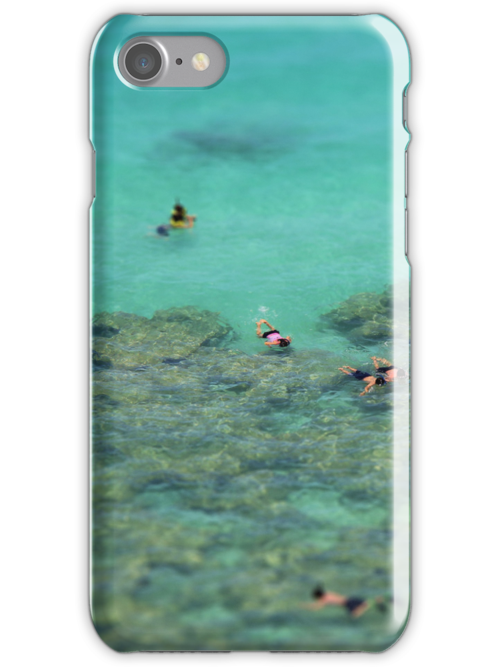 Snorkelling - iPhone case by MarinaCalin