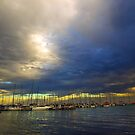 Storm over Geelong by Andrew (ark photograhy art)