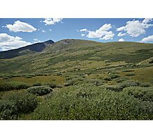 Guanella Pass Horizon Photographic Print