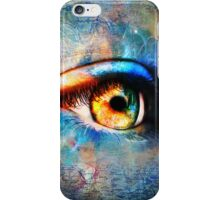 Through the Time Travelers Eye iPhone Case/Skin