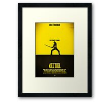 "Movie Poster - ""KILL BILL - Vol.1"" Framed Print"