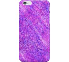 Pink and Blue Fracture iPhone Case/Skin