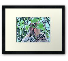SPARSE CONSUMPTION Framed Print