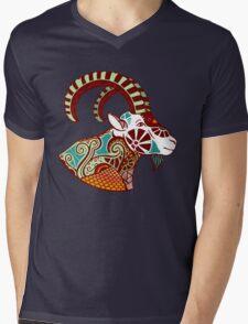 Capricorn Mens V-Neck T-Shirt