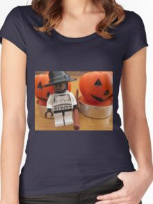 Dave Stormtrooper's Helloween Outfit Women's Fitted Scoop T-Shirt