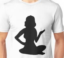 Pin Up Girl Silhouette Girly TShirt T-Shirt
