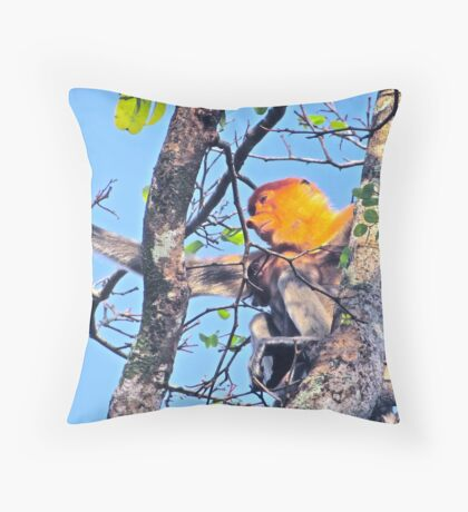 SPARSE SUPPORT Throw Pillow