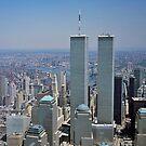 Twin Towers of the World Trade Center iPad Case by ipadjohn