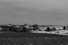Farmland (black and white) by Nevermind the Camera Photography