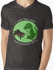 I could have made such beautiful music Mens V-Neck T-Shirt