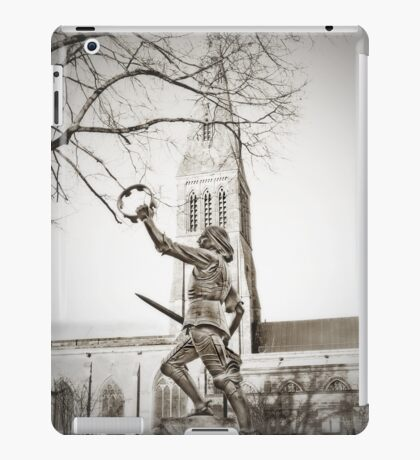 Richard And Leicester Cathedral iPad Case/Skin