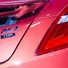 Peugeot RCZ Back Light [ Print & iPad / iPod / iPhone Case ] by Mauricio Santana