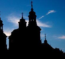 Prague Silhouette by phil decocco