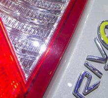 Volvo C30 Electric Back Light [ Print & iPad / iPod / iPhone Case ] Sticker