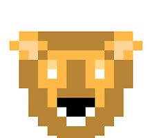 8-Bit Lion by lookaquarter