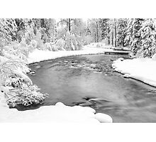 Nason Creek Photographic Print