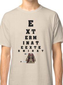 Dalek Calibration Classic T-Shirt