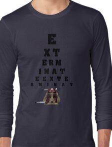 Dalek Calibration Long Sleeve T-Shirt