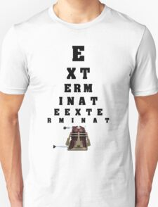 Dalek Calibration Unisex T-Shirt