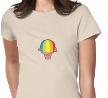 Hawaiian Shave Ice Womens Fitted T-Shirt