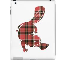 Plaidypus iPad Case/Skin