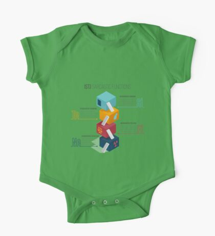 ISTJ Sarcastic Functions One Piece - Short Sleeve