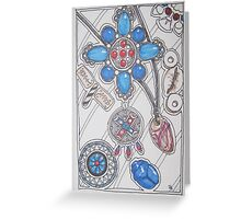 Artifacts: Ancient Jewels Greeting Card