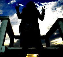 Sunset Silhouette by paulanicole13