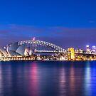Sydney Harbour Panorama by Liz Percival