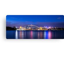 Sydney Harbour Panorama Canvas Print
