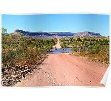 Pentecost river crossing, Gibb river road Poster