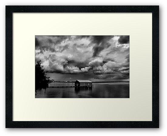 Under a Cloudy Sky by Ladyshark