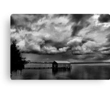 Under a Cloudy Sky Canvas Print