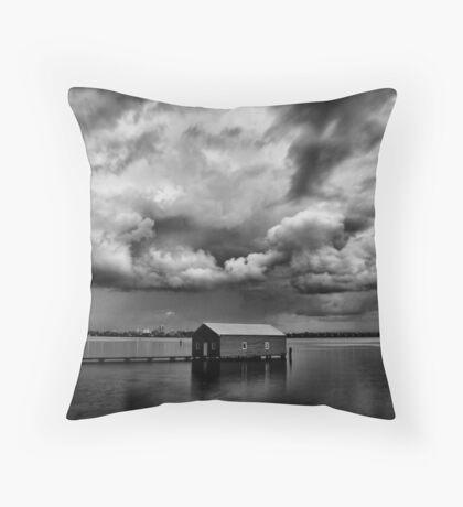 Under a Cloudy Sky Throw Pillow