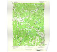 USGS TOPO Map New Hampshire NH South Merrimack 329791 1968 24000 Poster