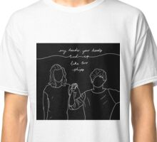 Tied Up Like Two Ships Classic T-Shirt