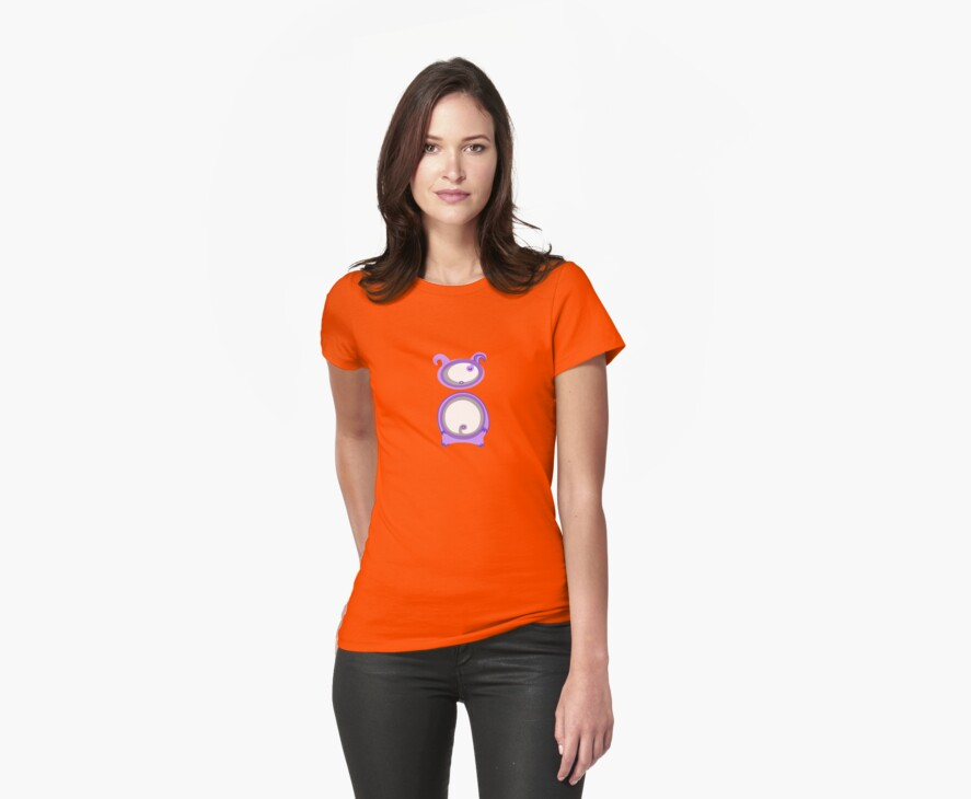 Purple Ugly Doll / Teletubby Inspired T-shirt by Jane McDougall