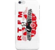 Mao RTFM iPhone Case/Skin