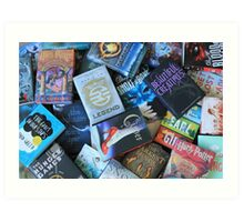 Young Adult Books Art Print