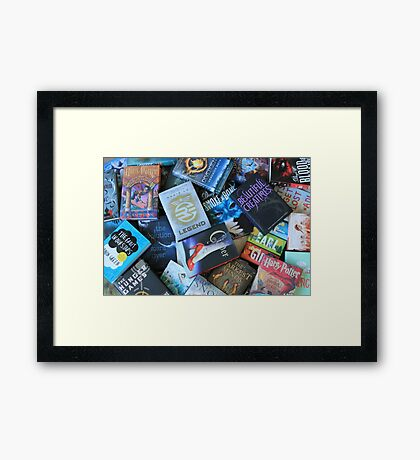Young Adult Books Framed Print
