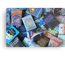 Young Adult Books Metal Print