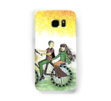Cycling Couple Samsung Galaxy Case/Skin