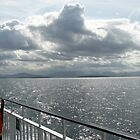 Strange Cloud Formation Over The Minch by BlueMoonRose